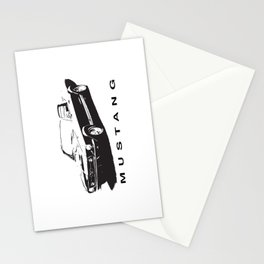 Mustang Design Stationery Cards