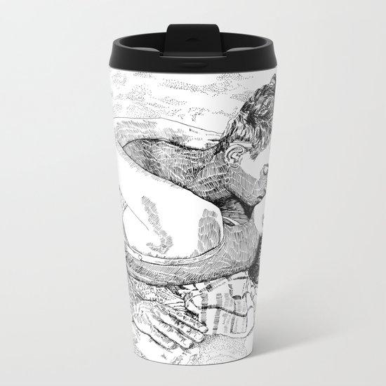 The kiss Metal Travel Mug