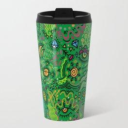 Surreal pattern (color) Travel Mug