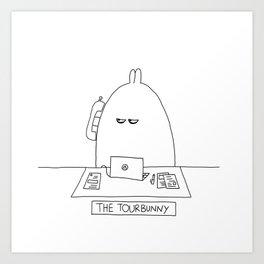 The TourBunny - Phone Art Print