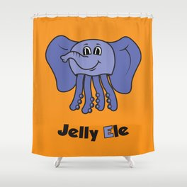Jelly Ele Shower Curtain