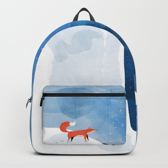 Fox In Nowhere Land Backpack