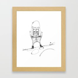 Spacebear Framed Art Print