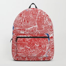 Vienna, Austria street map Backpack