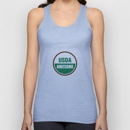 USDA AWESOME Unisex Tank Top