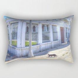 Istanbul Mosque Cat Rectangular Pillow