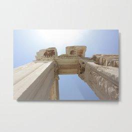 Ancient Columns Metal Print