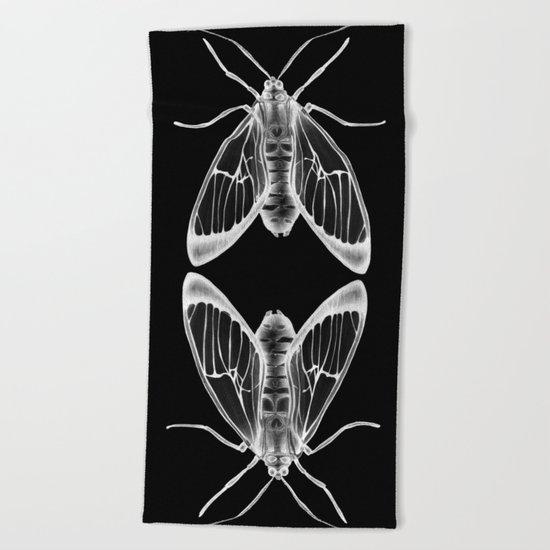 Wasp Moth II Beach Towel
