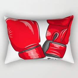 Boxing Gloves Rectangular Pillow