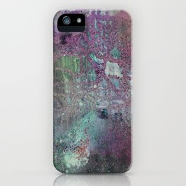 Abstract Confession iPhone Case