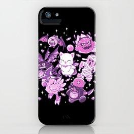 Final Fantasy Moogle Chocobo Tonberry Cactuar Bomb BatEye Gimme Cat Trick or treat iPhone Case