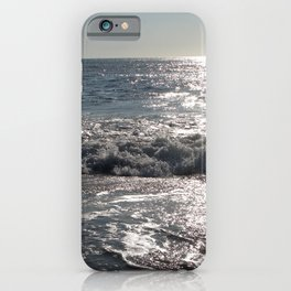 Summer Morning Surfer, Long Beach Island, New Jersey iPhone Case
