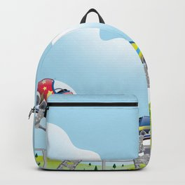 Rollercoaster ride Backpack