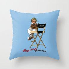 Short Film Director Throw Pillow