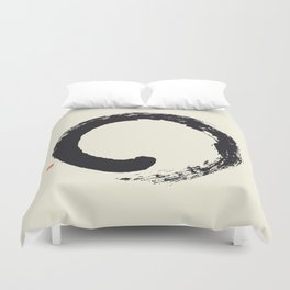 Enso / Japanese Zen Circle Duvet Cover