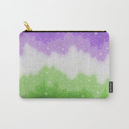 Genderqueer Pride Galaxy Carry-All Pouch