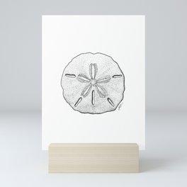 Sand Dollar Mini Art Print