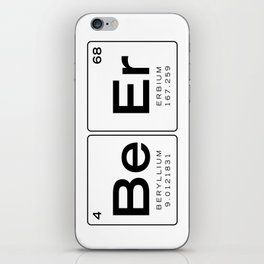 The Element of Beer - Beer Periodic Table of Elements, Nerdy iPhone Skin