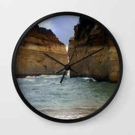 Two Giants on a Collision Course! Wall Clock