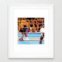 mike tyson Framed Art Prints featuring Mike Tyson 55 by thetruthyoualwaysknew