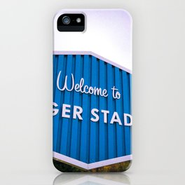 Welcome to Dodger Stadium | Los Angeles California Nostalgic Iconic Sign Sunset Art Print Tapestry iPhone Case