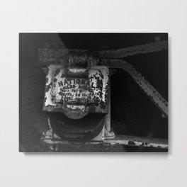 National   Train Photography Metal Print