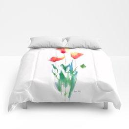 Flower Bouquet Comforters