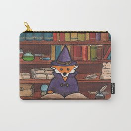 James the Wizard Fox Carry-All Pouch