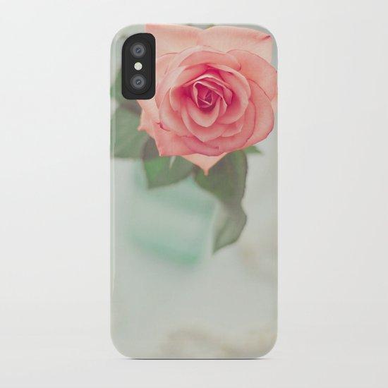 Fleur De L'amour iPhone Case