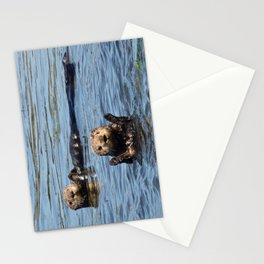 sea otter hello Stationery Cards