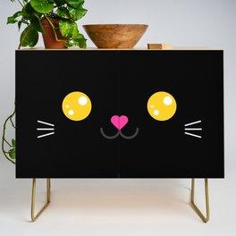 Children imaginary kitty friend CARBON (Chibi Palz cute companion) Credenza