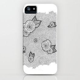 Dotted Floral iPhone Case