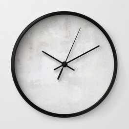 Pearly Plaster Wall Clock