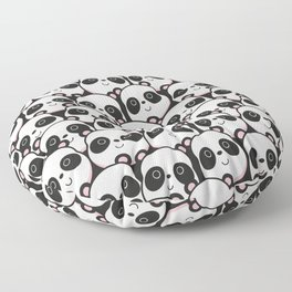 I Love Panda Floor Pillow