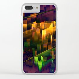 TRAPPIST - Connection II Clear iPhone Case