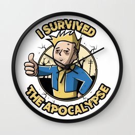 I survived the apocalypse Wall Clock