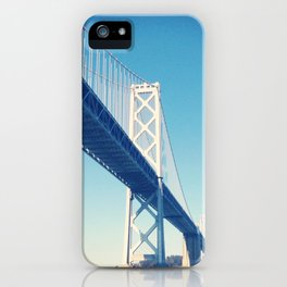 south side, bay bridge iPhone Case