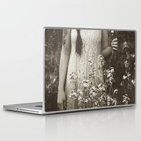 child Laptop & iPad Skins featuring Flower Child by Olivia Joy StClaire