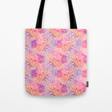psychedelic succulent Tote Bag