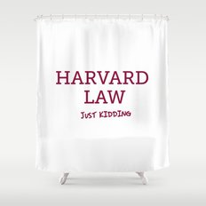 Harvard Law Shower Curtain