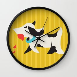Zombie Dog Harriet Wall Clock