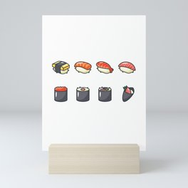 Sushi Lovers Mini Art Print