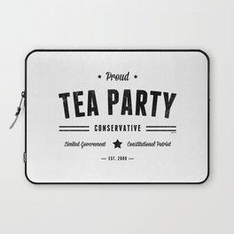 Tea Party Conservative Laptop Sleeve