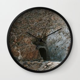 Interesting Train Tunnel Wall Clock