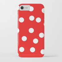 polka dot iPhone & iPod Cases featuring Polka dot by Pirmin Nohr