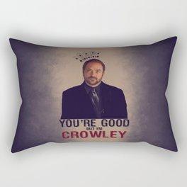 I'm Crowley - Supernatural Rectangular Pillow