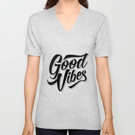 GOOD VIBES Unisex V-Neck