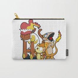 Funky Fire Monkeys! Carry-All Pouch