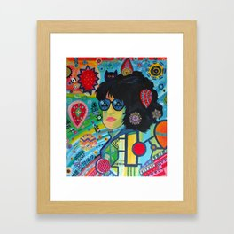 Control Yourself Framed Art Print