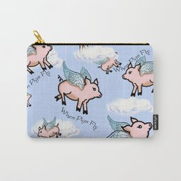 When Pigs Fly 2 Carry-All Pouch
